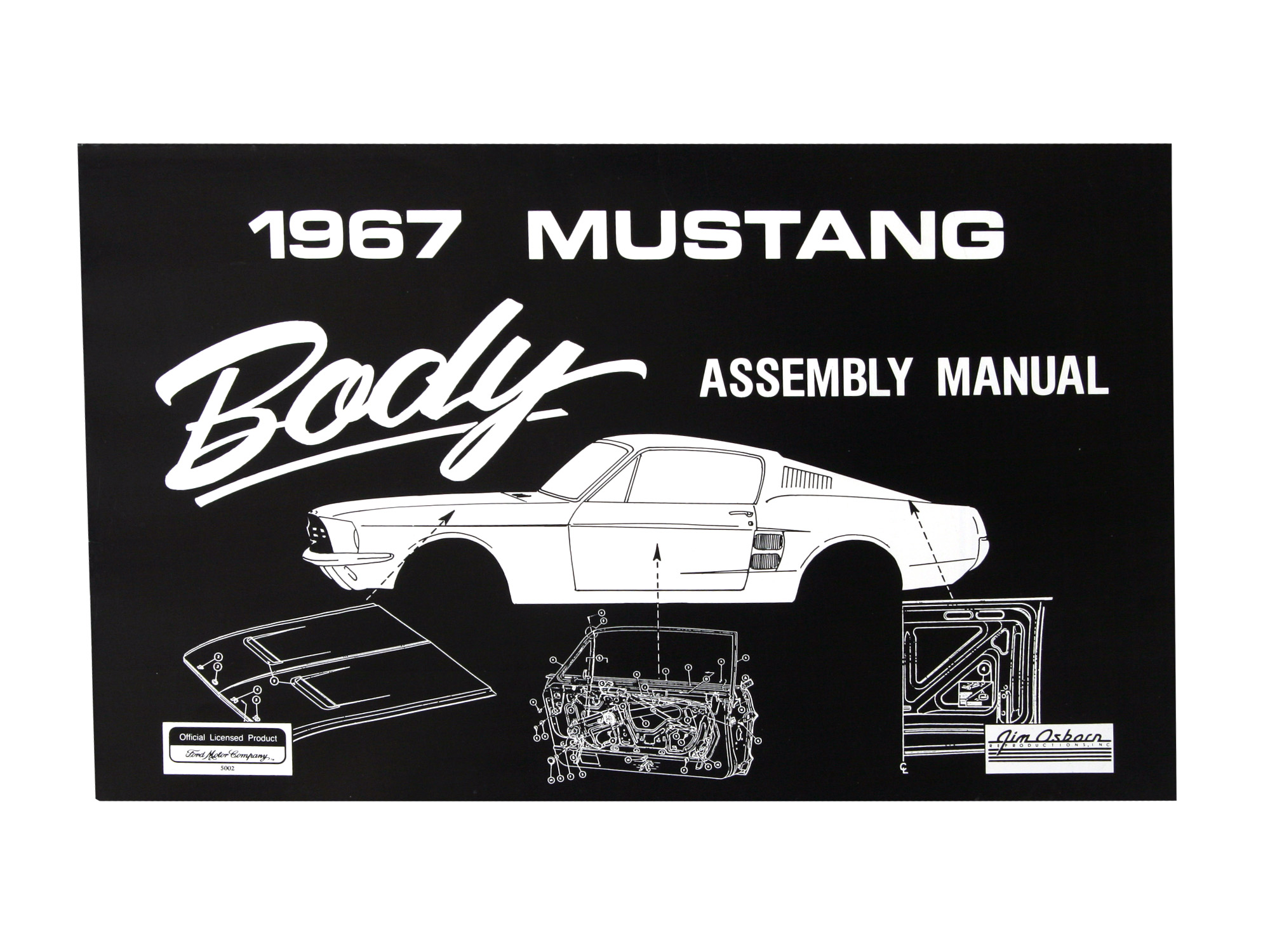 literature assembly owner s manuals 1967 body assembly manual rh harrysclassicsmustangparts com au 1967 mustang service manual 1967 ford mustang service manual